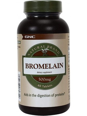 Bromelain 500 mg. 60 tablets
