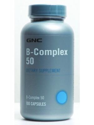 B Complex  50 mg. 100 capsules