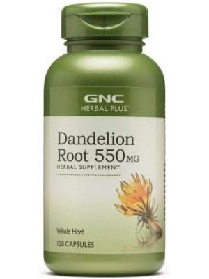 Dandelion Root 550 mg. 100 capsules