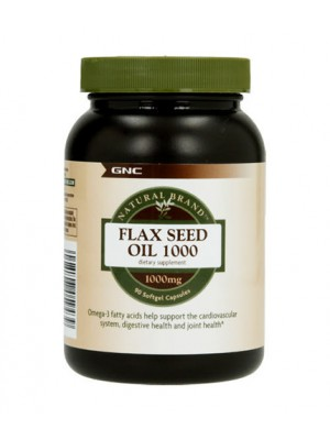 Flax Seed Oil 1000 mg. 90 capsules