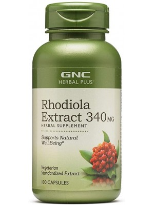 Rhodiola Extract 340 mg. 100 capsules