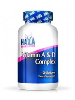 Vitamin A D Complex 100 capsules